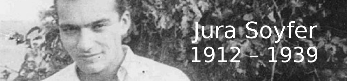 Jura Soyfer – Biographien