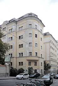 """Sitz des """"Wiener Tag"""", 9. Canisiusgasse 8"""